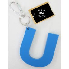 U Blue Alpha Bag Tag